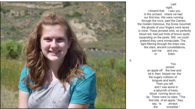 Noblesville Student Wins National Award For Poetry on Latest Scholastic Writing Contest