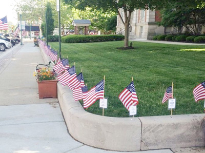 Noblesville Noon Kiwanis selling memorial flags – Hamilton County