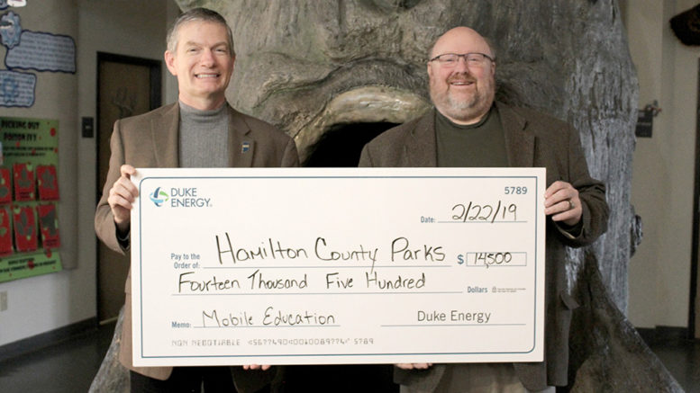 County Parks & Rec gets grant from Duke Energy Foundation
