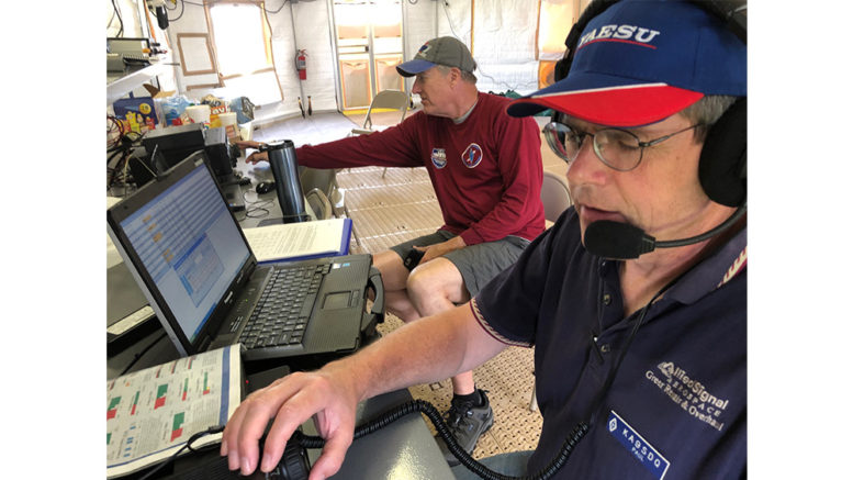 Amateur radio operators are standing by if needed – Hamilton